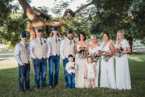 Outdoor-wedding-party